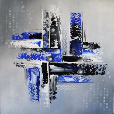 Gris gravalax et glacis de bleu de glace